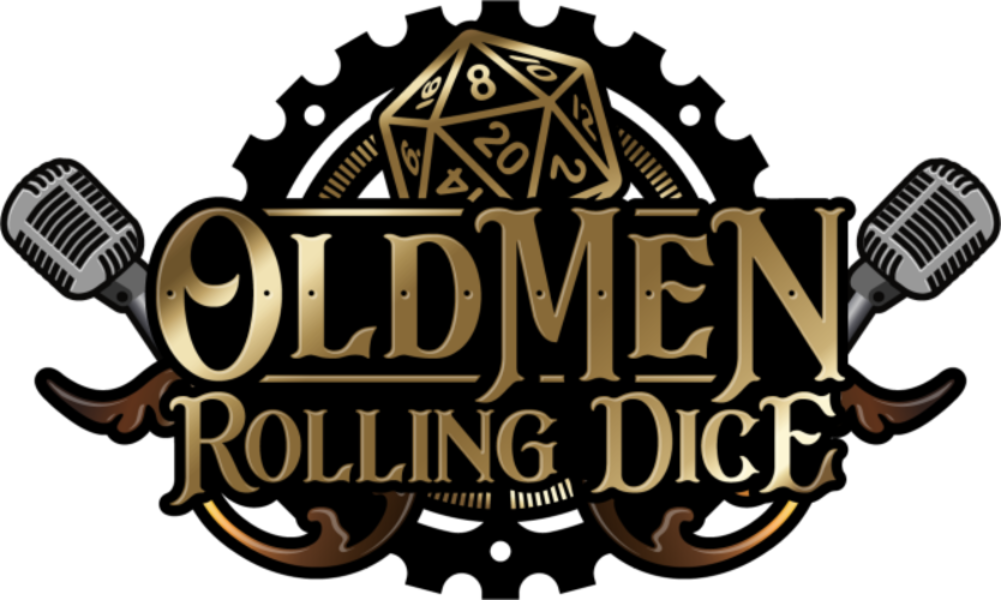 Old Men Rolling Dice